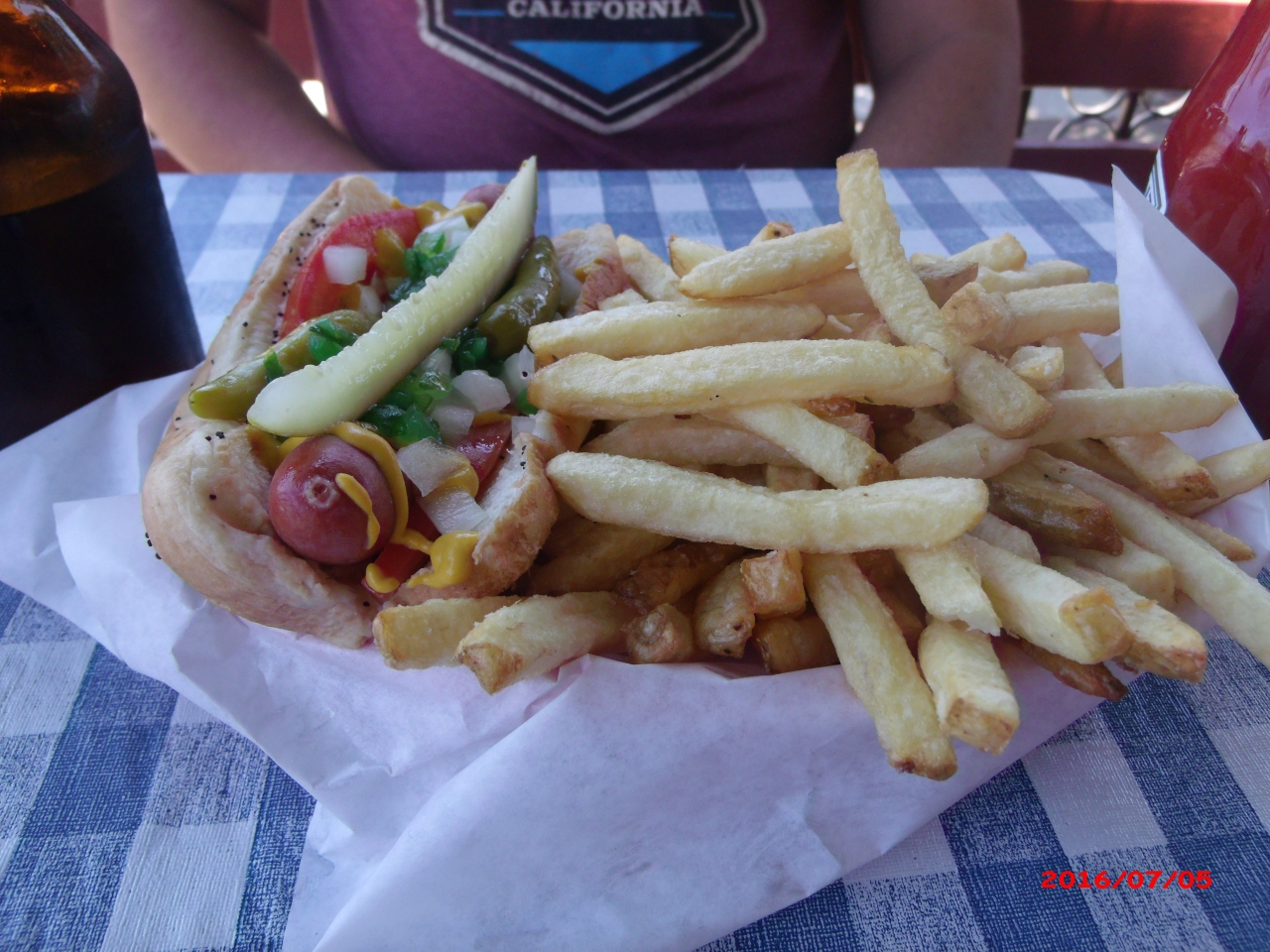 San Diego's Best Hot Dog